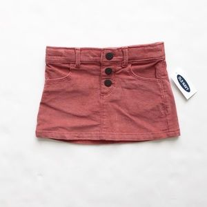 Old Navy NWT corduroy skirt 12-18m/18-24m/2T